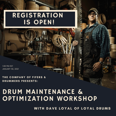 Drum Maintenance and Optimization Workshop
