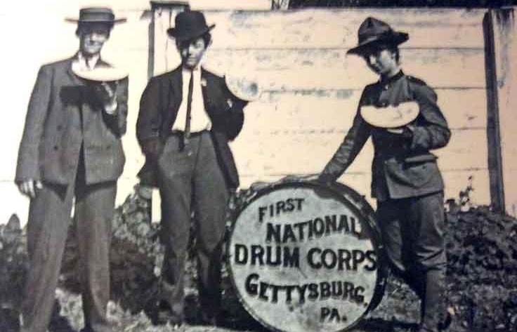 first national drum corps banner