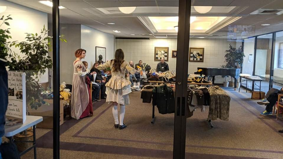 period clothing seminar