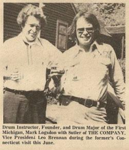 Leo Brennan and Mark Logsdon (from the Ancient Times, March 1976)
