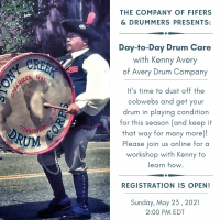 Day-to-Day Drum Care with Kenny Avery of Avery Drum Company